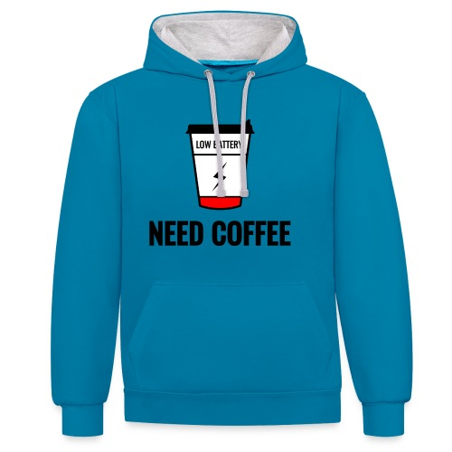 need coffee - Kontrastihuppari
