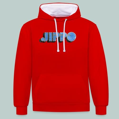 JIPPO LOGO (blue) - Kontrastihuppari