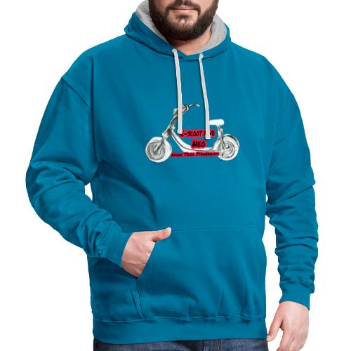 Neorider Scooter Club - Sweat-shirt contraste