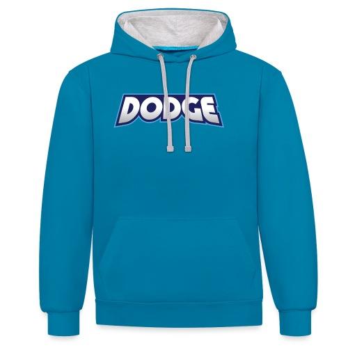 Dodge Logo - Contrast Colour Hoodie