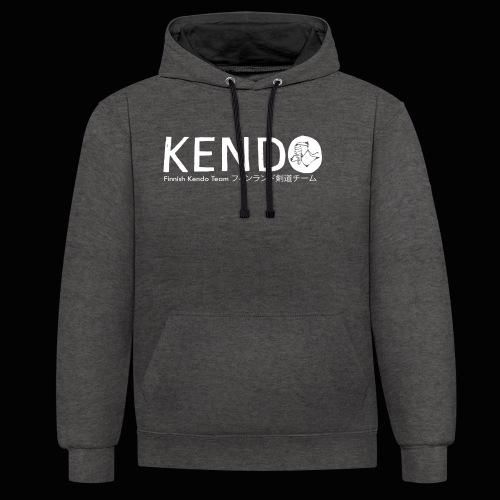 Finnish Kendo Team Text - Kontrastihuppari