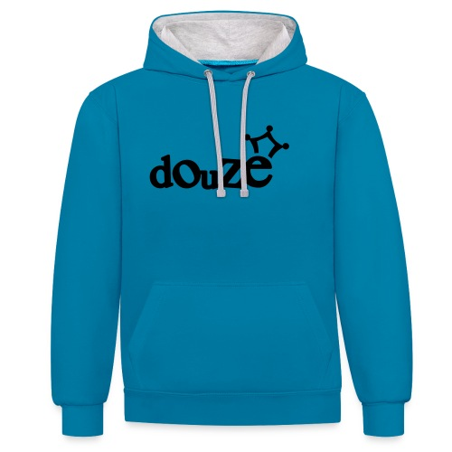 logo_douze - Sweat-shirt contraste