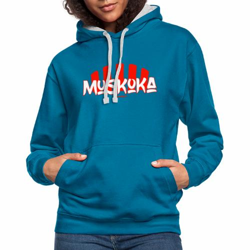 Muskoka - Contrast hoodie