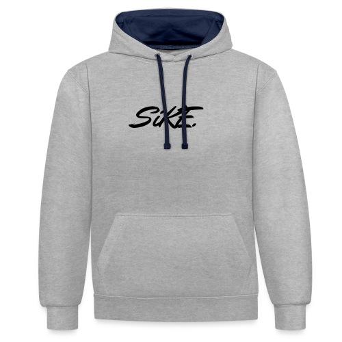 SIKE - Sweat-shirt contraste