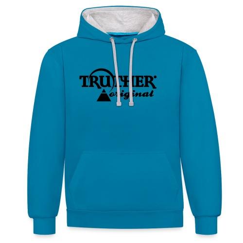 Truther - Kontrast-Hoodie