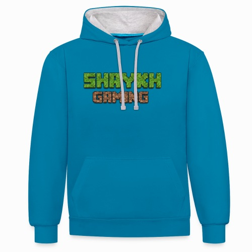 Shaykh Gaming Merch - Contrast Colour Hoodie