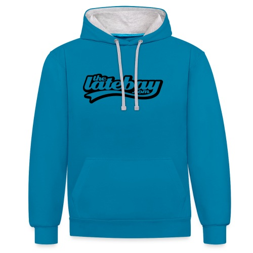 tlb tshirt01 type small 135mm width - Contrast Colour Hoodie