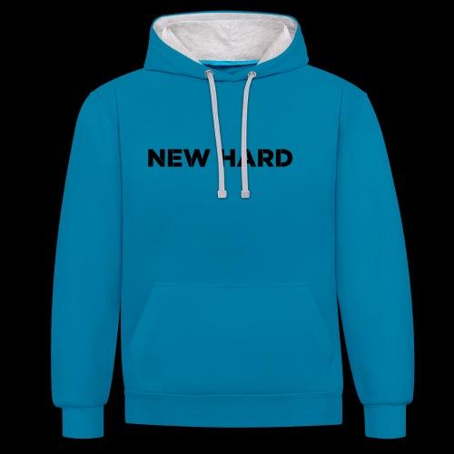 NAAM MERK - Contrast hoodie