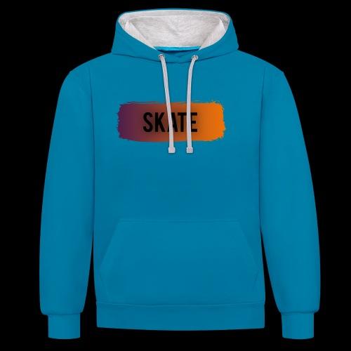 skate brush - Contrast hoodie