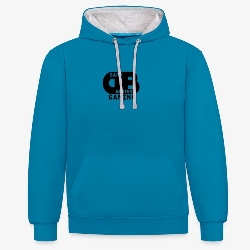 Dark Busters Gaming Merch - Kontrast-Hoodie