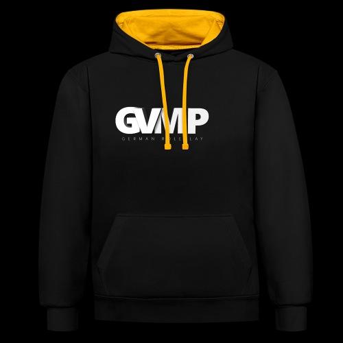 GVMP Schriftzug - Kontrast-Hoodie