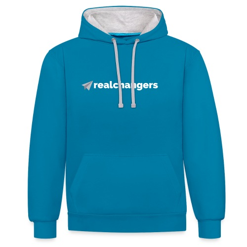 realchangers - Contrast Colour Hoodie