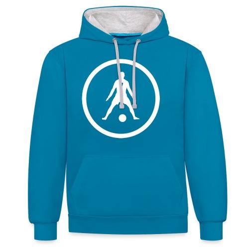 Rug nummer zeven - Contrast hoodie