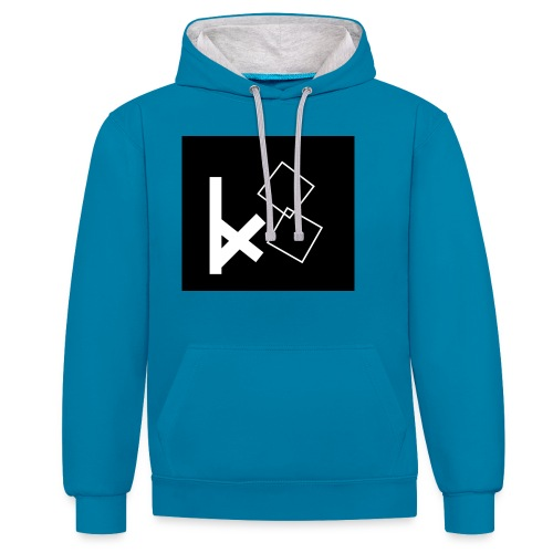 KX8 merch - Contrast Colour Hoodie