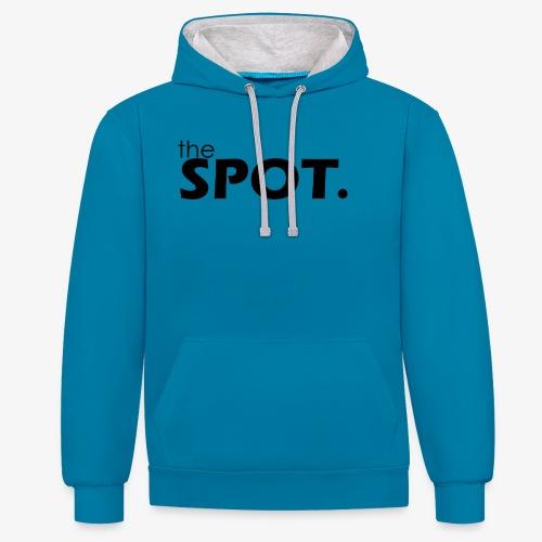 theSpot Original - Contrast Colour Hoodie