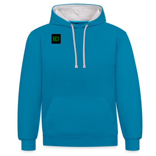 Profile Pic 1 - Contrast Colour Hoodie