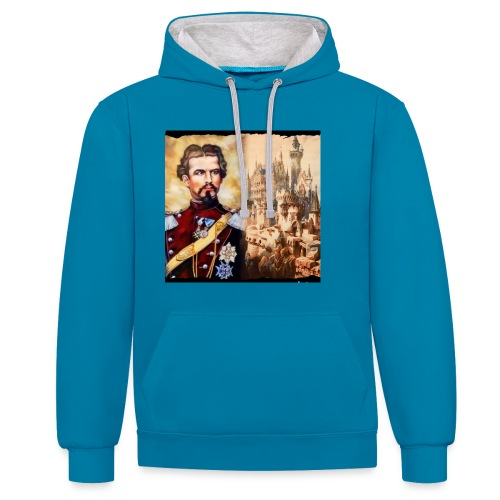 Ludwig and Falkenstein - Contrast Colour Hoodie