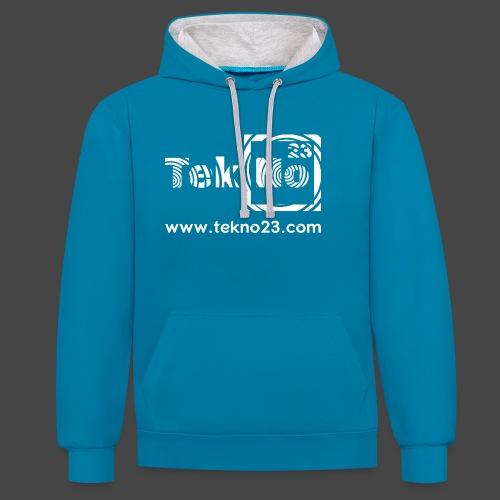 tekno 23 - Sweat-shirt contraste