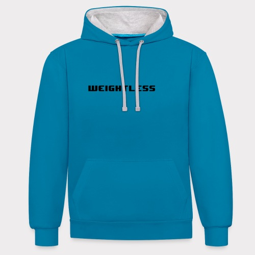 Weightless - Contrast Colour Hoodie