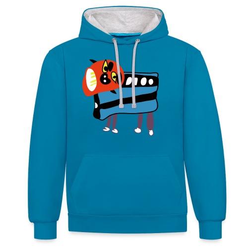 Shi Shi - Contrast hoodie