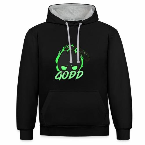 ThreGodd - Contrast Colour Hoodie