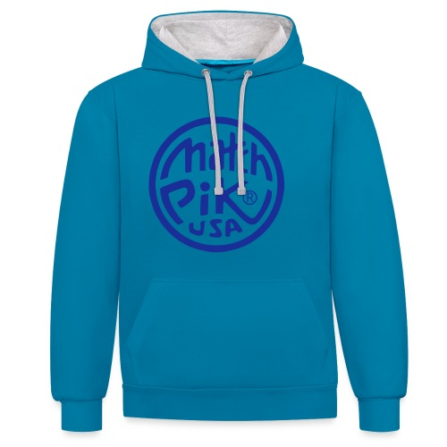 Scott Pilgrim s Match Pik - Contrast Colour Hoodie
