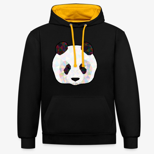 Panda - Sweat-shirt contraste