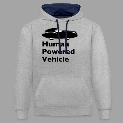 Quattrovelo Human Powered Vehicle black - Kontrastihuppari