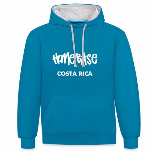 WORLDCUP Costa Rica - Kontrast-Hoodie