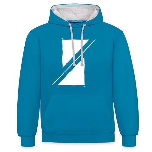 Muzik & Friendz Records Logo - Contrast hoodie