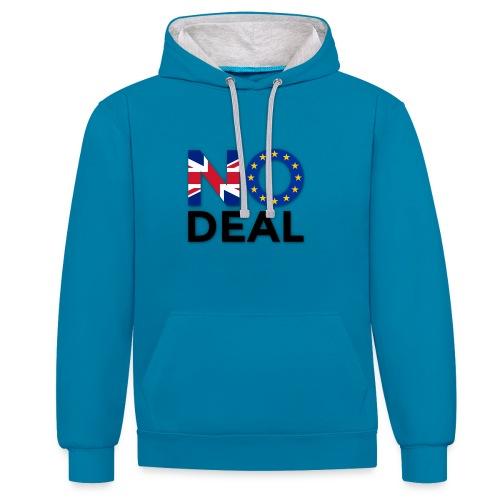 No Deal - Contrast Colour Hoodie