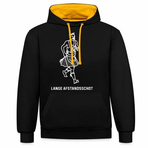 Lange Afstandsschot - Contrast hoodie