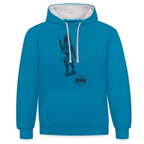 ZWOLLE 038 rattatattoo zwolle perperbus - Contrast hoodie