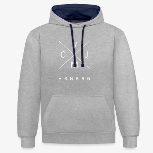 CVJM Hornberg - Kontrast-Hoodie