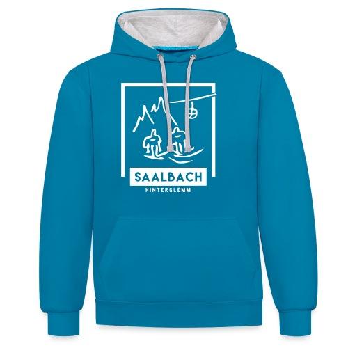 Skido's Saalbach - Contrast hoodie