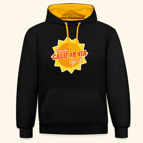 California Spirit Radioshow - Sweat-shirt contraste
