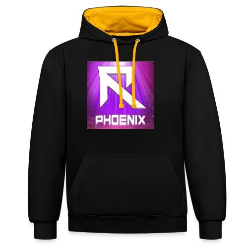 RTrixx Phoenix Logo - Contrast Colour Hoodie