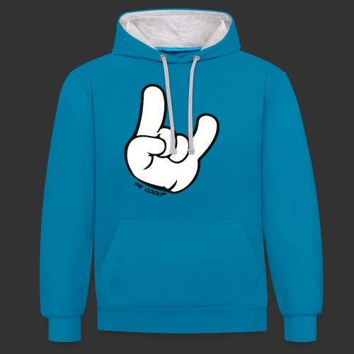 we cool - Contrast hoodie