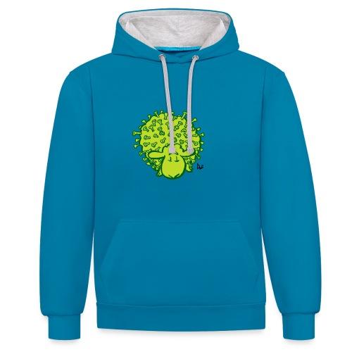 Virus Sheep - Contrast hoodie
