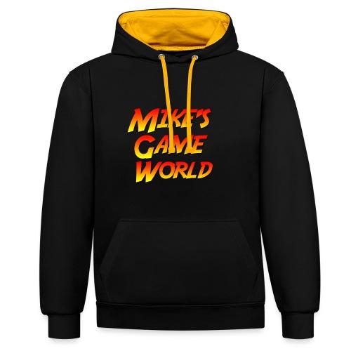New Logo - Contrast hoodie