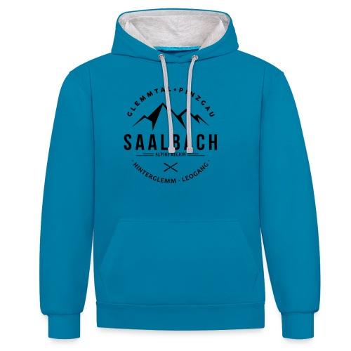 Saalbach Mountain Classic - Contrast hoodie
