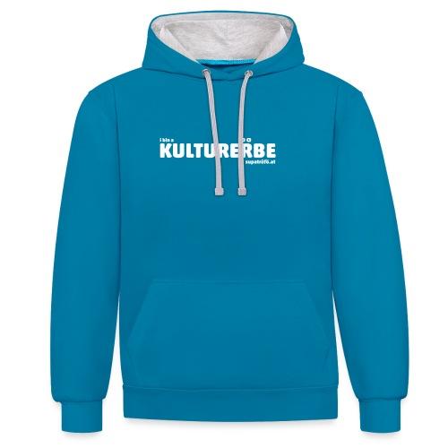 supatrüfö KULTURERBE - Kontrast-Hoodie