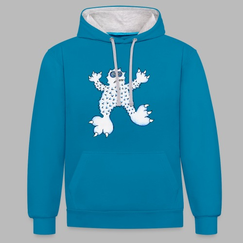 ABOMINABLE! - Contrast Colour Hoodie