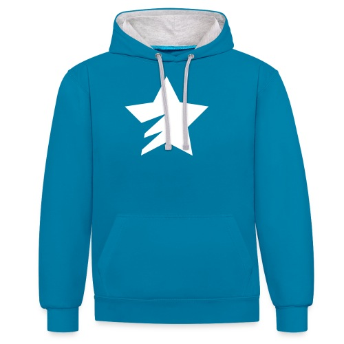 sStar - Contrast Colour Hoodie