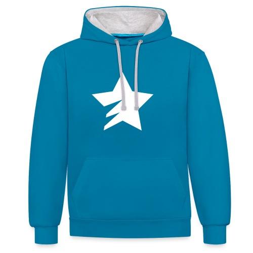sStar - Contrast Colour Hoodie