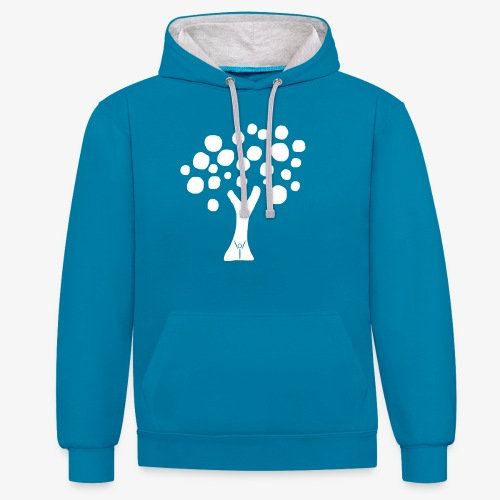 Baum iYpsilon - Kontrast-Hoodie