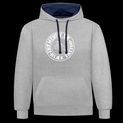 logo hvid png - Kontrast-hættetrøje