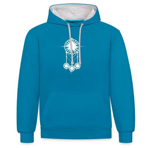 DREAM CATCHER - Sweat-shirt contraste