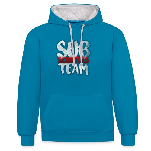 Sub scooters Team - Contrast hoodie