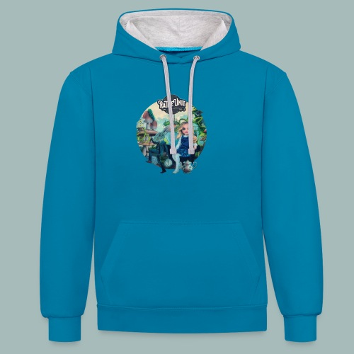 Letting Go Merch - Contrast hoodie